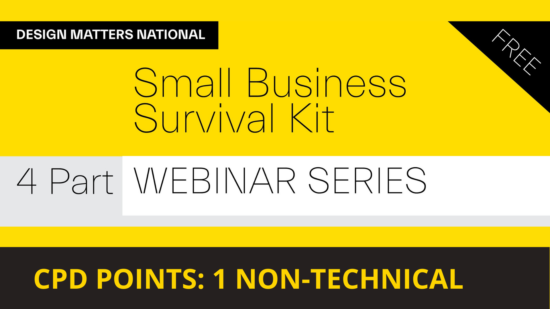 Design Matters National Small Business Survival Kit Part 4